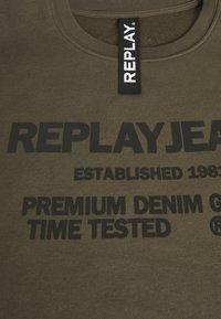 Replay - Sweatshirt - military - 2