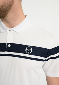 sergio tacchini - YOUNG LINE - Polo shirt - white/navy - 3