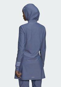 adidas Performance - ADI PBSW TOP SWIM SPORTS WATERSPORTS PRIMEBLUE NYLON RASH GUARD - Long sleeved top - purple - 2