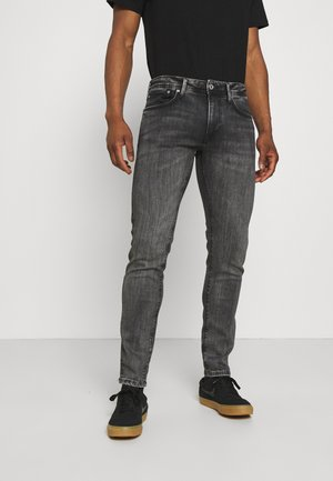 STANLEY - Slim fit jeans - black denim