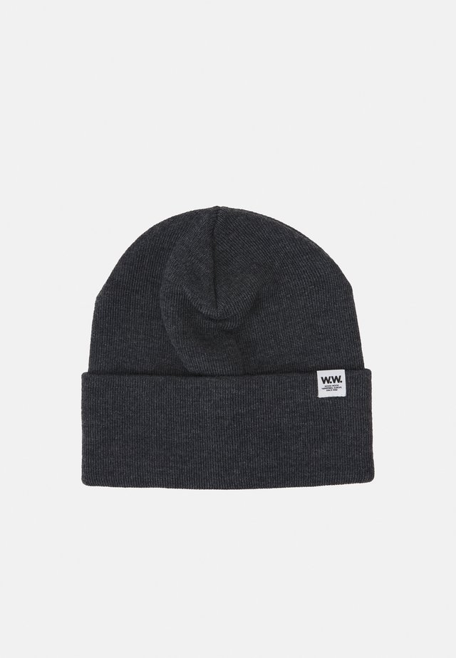 GERALD TALL BEANIE UNISEX - Berretto - dark grey