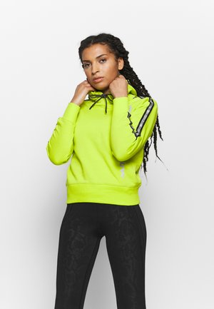 HOODED - Jersey con capucha - neon green
