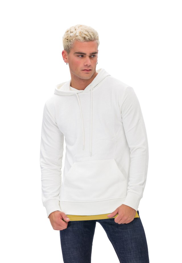 KAPUZENSWEATSHIRT MAN SWEATSHIRT - Hoodie - white