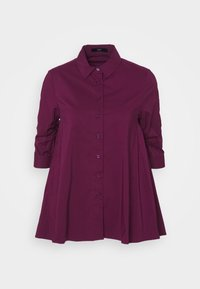 Steffen Schraut - BENITA FASHIONABLE BLOUSE - Button-down blouse - wild berry - 4