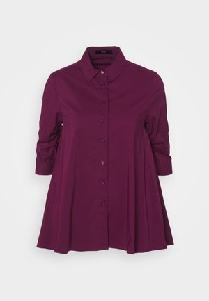 BENITA FASHIONABLE BLOUSE - Camisa - wild berry