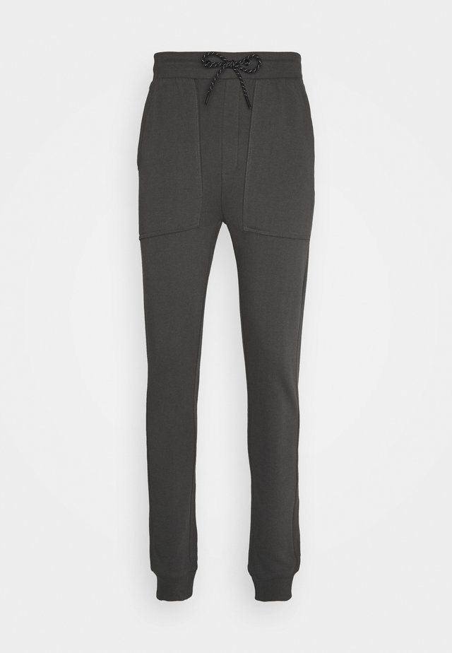 JOGGER PLAIN - Trainingsbroek - iron