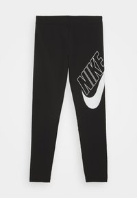Nike Sportswear - FAVORITES - Leggings - black/white - 0