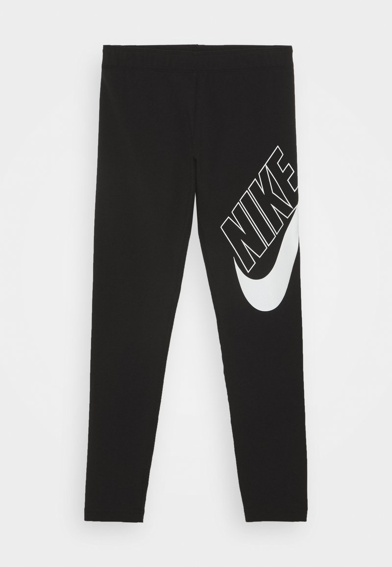 Nike Sportswear - FAVORITES - Leggings - black/white