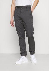 Only & Sons - ONSCAM AGED CUFF - Spodnie materiałowe - grey - 0
