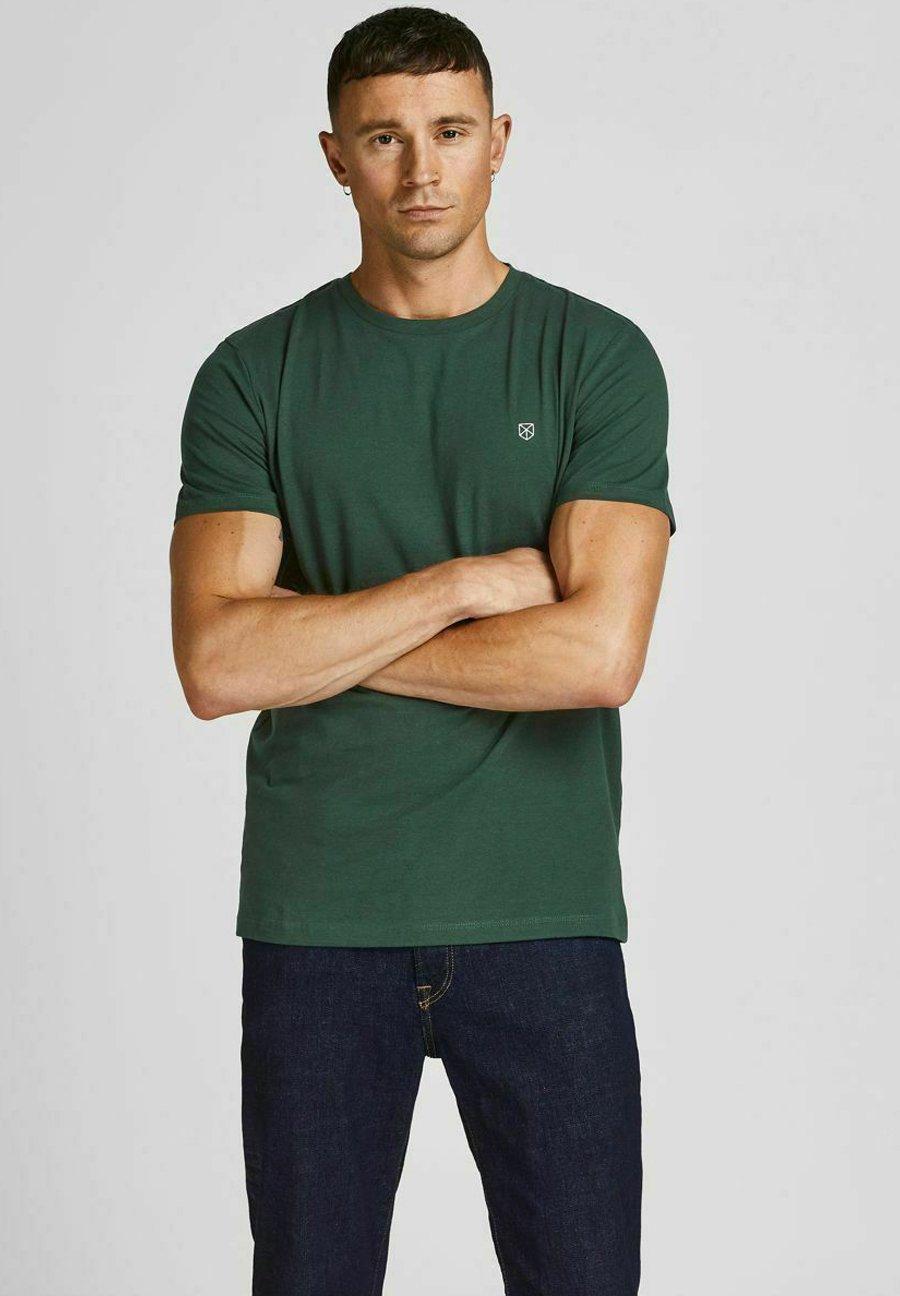 Uomo JPRBLABOOSTER TEE  - T-shirt basic