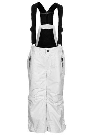 SALOPETTE UNISEX - Snow pants - bianco