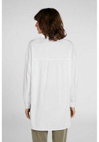 Oui - Button-down blouse - optic white - 2