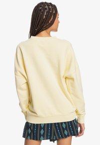 Quiksilver - Sweatshirt - pastel yellow - 2