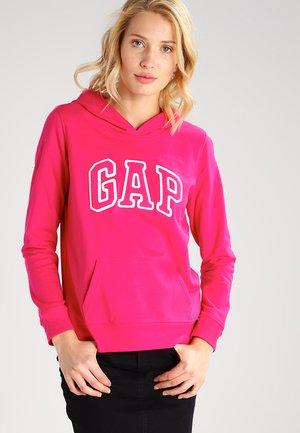 Felpa con cappuccio - lipstick pink