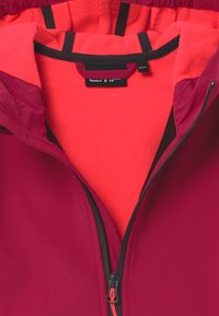 CMP - GIRL FIX HOOD - Soft shell jacket - magenta/red fluo - 3