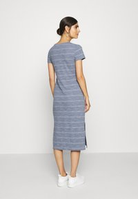 GAP - CREW MIDI DRESS - Jersey dress - grey - 2