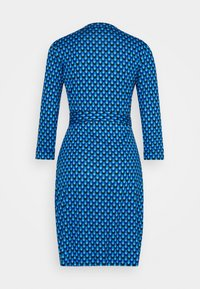 Diane von Furstenberg - BANDED JULIAN MINI - Jersey dress - adriatic - 7
