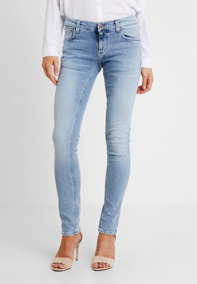 TIGHT TERRY - Slim fit -farkut - light-blue denim