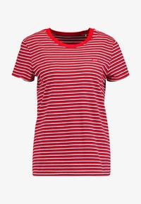 PERFECT TEE - Basic T-shirt - koronis brilliant red