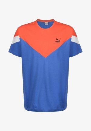 Print T-shirt - palace blue