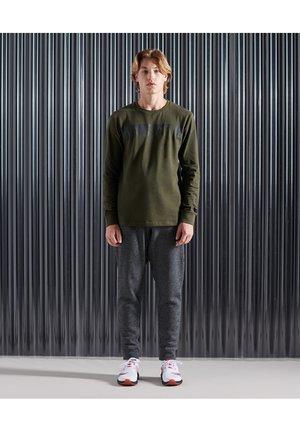 Long sleeved top - army khaki