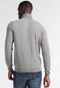 Benetton - BASIC ROLL NECK - Jumper - grau - 2