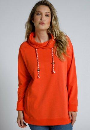 Sweatshirt - manderine