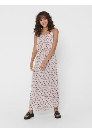 MAXIKLEID BEDRUCKTES - Maxi dress - pearl