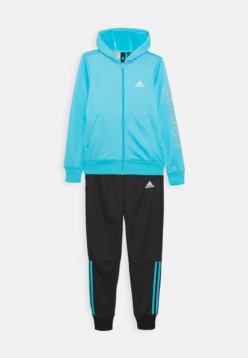 adidas Performance - HOODIE PES TRAINING SPORTS TRACKSUIT - Tracksuit - blue