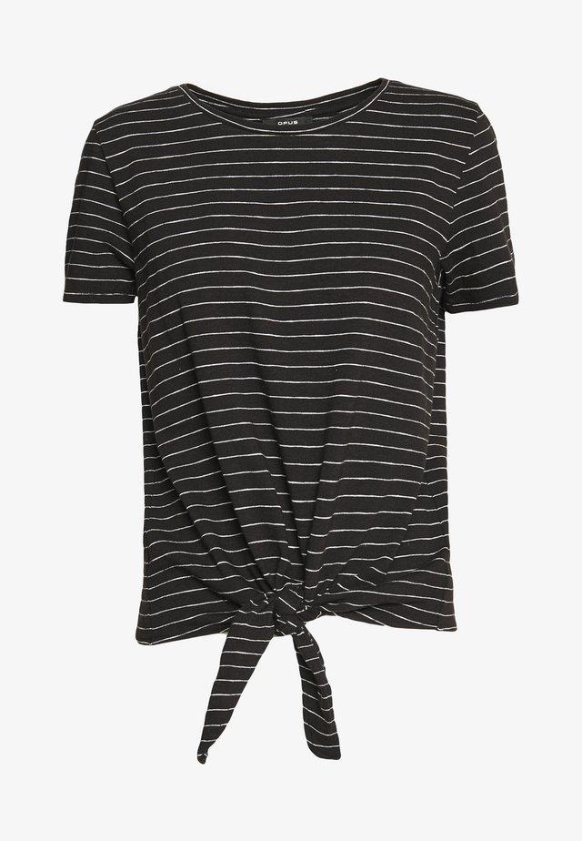 SOLLONA - Camiseta estampada - black