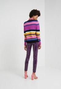 Pinko - TANDEMPANTALONE LATTICE - Kalhoty - purple - 2