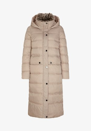 MIT WEBPELZ-BLENDE - Winter coat - beige
