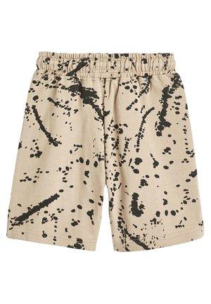 MINK SPLAT SHORTS (3-16YRS) - Shorts - beige