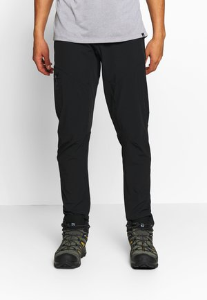 WAYFARER - Spodnie materiałowe - black