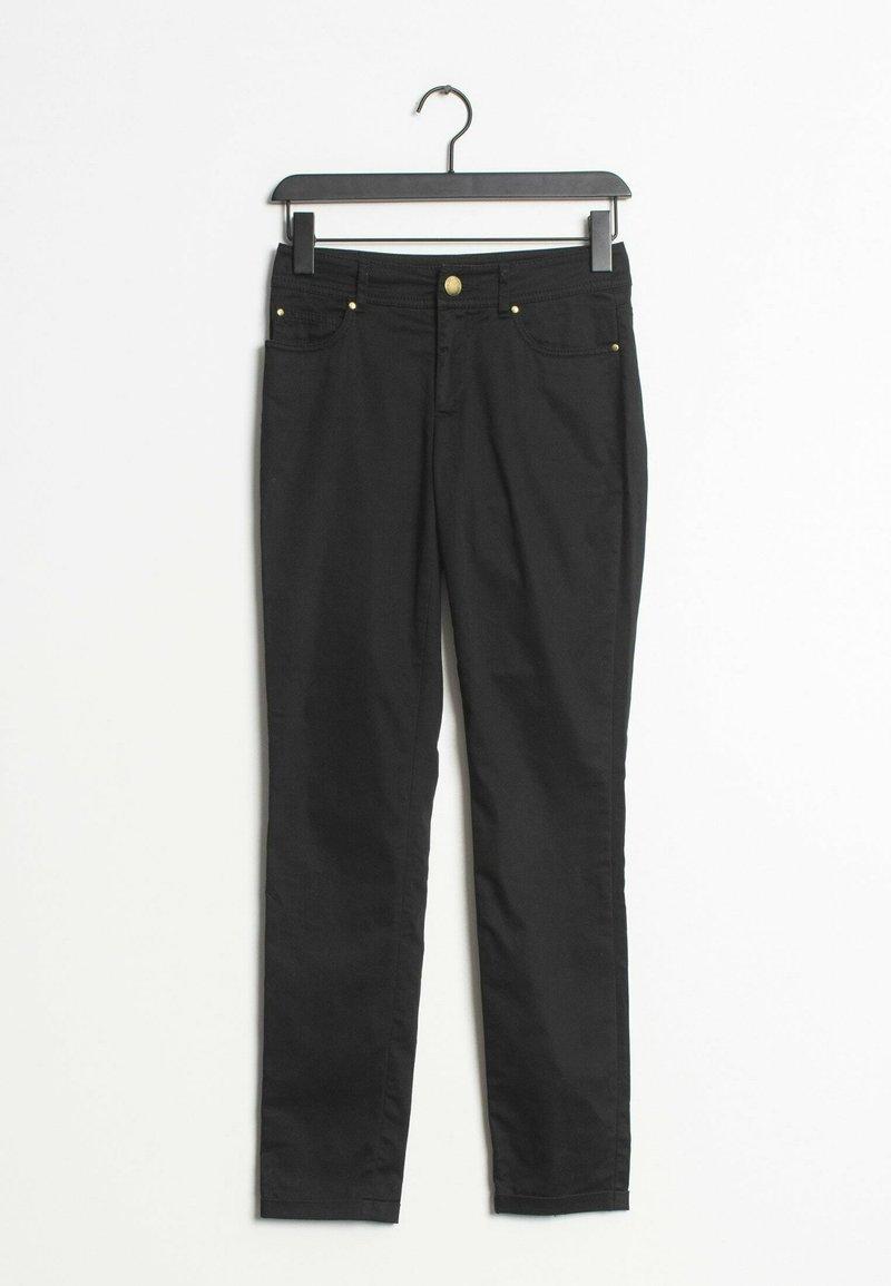 HALLHUBER - Straight leg jeans - black