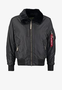 Alpha Industries - INJECTOR III - Bomber Jacket - black - 8