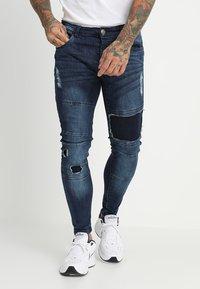 Brave Soul - SARNEN - Jeans Skinny Fit - dark blue - 0