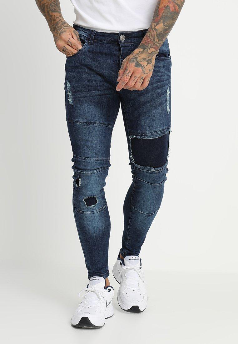 Brave Soul - SARNEN - Jeans Skinny Fit - dark blue