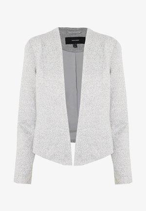 VMJANEY SHORT - Blazer - light grey melange