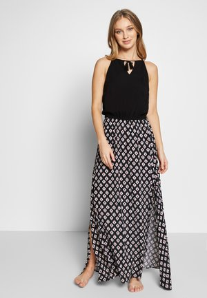 ISLAND LONG DRESS - Complementos de playa - black