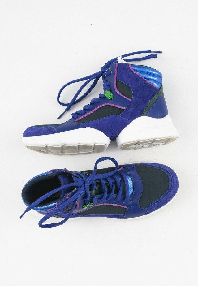 Sneakers hoog - blue