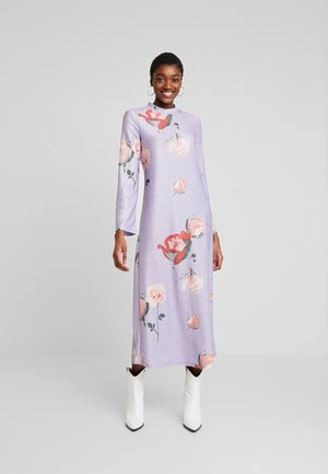 EIVOR DRESS - Jersey dress - purple