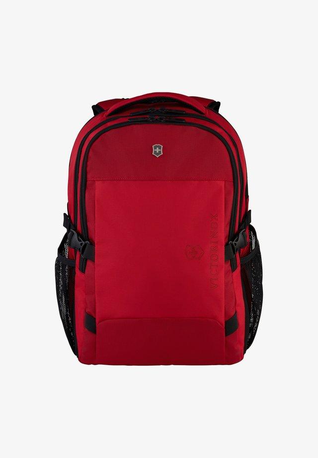 Rucksack - scarlet sage-red
