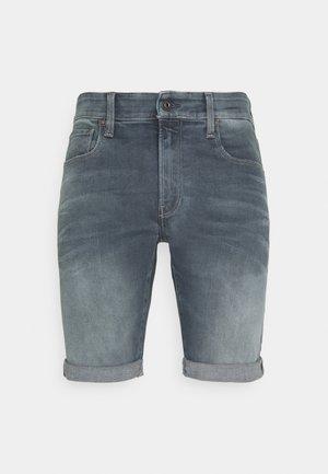 3301 SLIM SHORT - Shorts di jeans - smokey night