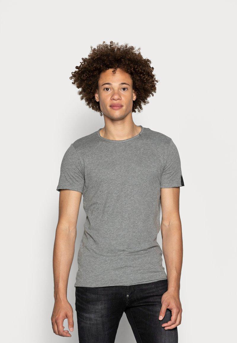 Replay - Basic T-shirt - dark grey melange