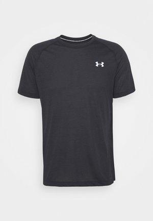 STREAKER - T-shirts med print - black