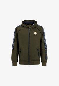 WE Fashion - Zip-up hoodie - dark green - 2