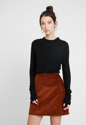 VILJA - Long sleeved top - black