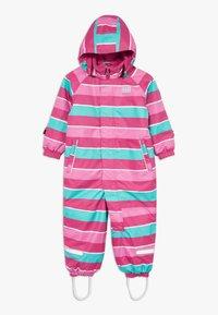 LEGO Wear - LWJUNIN 703 SNOWSUIT - Snowsuit - dark pink - 0