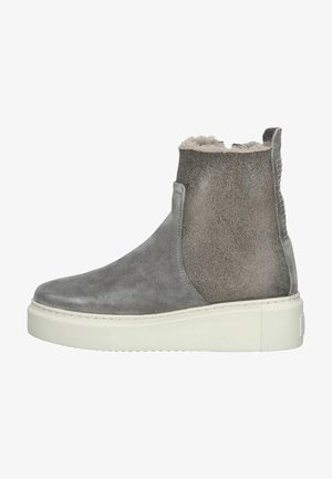 Botki - ash grey/brown